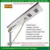 20W LEDの動きセンサーが付いている太陽統合された庭ライト