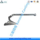 Ancla del arado del acero de molde con la galvanización sumergida caliente