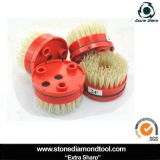 Klindex Machine를 위한 4 인치 100mm Round Diamond Abrasive Brush