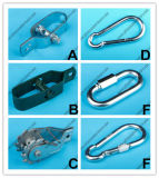 China fabrikant Marine Hardware verzinkt Wire Rope Clip Rigging