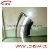 Conexões de tubos sanitários de aço inoxidável Cotovelo