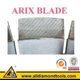Segmento Arix diamante para corte de hormigón de hoja de diamante