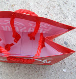Подгоняйте мешки подарка бумаги рождества яркия блеска