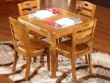 Твердый деревянный обедая журнальный стол стола (M-X2156)