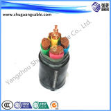 Изоляция Zr-Yjv22/LV/XLPE/стальная лента бронированная/силовой кабель
