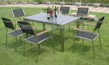 Jogo de mármore redondo da tabela do jardim Rustless do aço 304 inoxidável