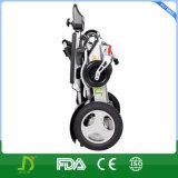 ISO13485/FDA/Ce Batterij 25km van het Lithium van het Certificaat de DrijfStoel met 4 wielen van het Aluminium van de Waaier Draagbare en Vouwbare Elektrische