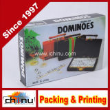 Dominos des Doppelt-sechs mit Plastikkasten (431017)