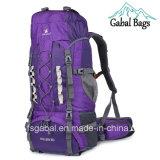 O curso de acampamento de escalada ao ar livre profissional do esporte da grande capacidade Backpacks o saco