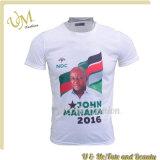 T-shirt bon marché de logo d'impression de coutume des prix les plus inférieurs $1