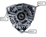 24V 110A Alternator per Bosch Man Trucks Lester 12724 0124655011