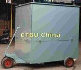 Quatre roues stable Machine de traitement de l'huile de transformateur mobile