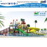 Água Equipamento ao ar livre Slides for Kids (HD-6301)