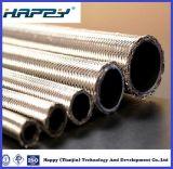 En PTFE flexible tressé en acier inoxydable