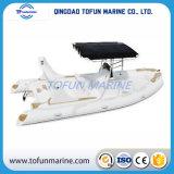 Hypalon/PVC de Opblaasbare Boot van de Rib (Bijgewerkte het Model van RIB580 S)