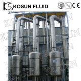 Aço inoxidável Multi Effect Juice Concentrate Falling Film Evaporator