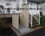 Домашняя лестницей для подъема инвалидной коляске