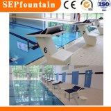 Bloco começar da associação do equipamento da piscina do aço inoxidável
