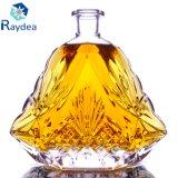 Regalo che impacca la bottiglia di vetro del silice 750ml con la protezione di vetro