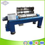 Lw250*900 tipo horizontal filtro do separador do óleo de peixes do Sedimentation da descarga da espiral