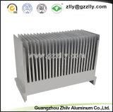 밀어남 알루미늄 열 싱크 제조자 또는 열 싱크
