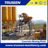 tipo planta de tratamento por lotes concreta da cubeta do equipamento de construção 75m3/H
