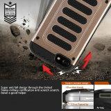 Étui de téléphone de protection 2-en-1 unique pour piano-clés avec insert TPU