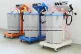 Sistema de pulverização de revestimento eletrostático em pó do substrato de metal