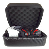 Caso duro portable de EVA del carbón impermeable para 3D Vr