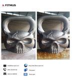 Cráneo Kettlebell Kettlebell con cara de gorila Kettlebell Kettlebell caras