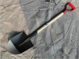 Черной краской лопаты/пластину для сада с помощью