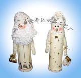 Caja del vino de Santa y del muñeco de nieve (YCWL09005)