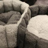애완 동물 제품 작은 개 고양이 호화스러운 애완 동물 침대를 위한 두 배 애완 동물 침대는 데운다