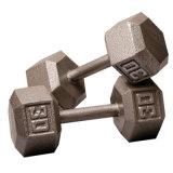 Moldeada personalizada gimnasia del hierro de fitness con mancuernas Set