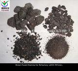 Refraktäre Grad-Brown fixierte Aluminiumoxyd-Körner