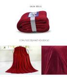 Одеяло ватки китайского полиэфира поставщика супер мягкого приполюсное