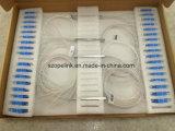 PLC Blockless van de Telecommunicatie van Gpon 1X16 0.9mm Splitser met Schakelaar