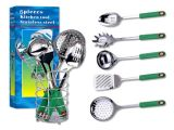 6PC-conjunto de ferramentas de cozinha com suporte (KTS621)
