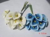 Calla manojos flor artificial de poliéster