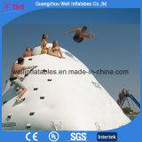 Aufblasbare Eisberg-Plättchen-Wasser-Spiel-aufblasbare Felsen-Kletternwand-Insel