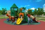 卸し売り安い就学前の屋外の運動場、子供のスライド装置HD17-014b