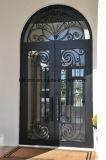 Квадратная верхняя часть Рук-Выковала конструкцию дверей изготовленный на заказ входа утюга