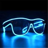 Ton betätigte Sonnenbrillen EL-LED