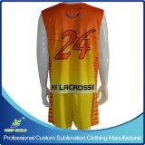 Sublimação personalizado Lacrosse homens roupa desportiva