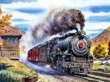 Картина маслом - поезд 1