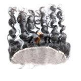 Chiusura frontale del merletto dei capelli cinesi di Remy con l'onda del corpo