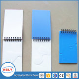 Cuaderno de papel de piedra libre de la fibra y del enrollamiento