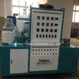 Six couleurs versant PU double densité de la machine avec réservoir de couleur