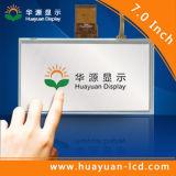 Relação RGB888 TFT indicador do LCD de 7 polegadas
