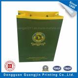 Luxury Paper Bag Panier avec Golden Logo